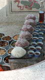 食物为给予条件祖先的精神的 免版税图库摄影