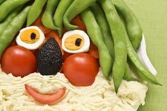 食物乐趣孩子 免版税库存照片