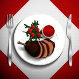 食物例证 免版税图库摄影