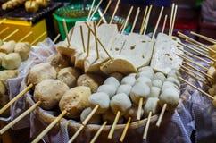 食物停转泰国 库存图片