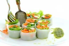 食物健康面条种类蔬菜 免版税库存照片