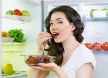 食物冰箱 库存图片