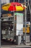 食物出售商 免版税图库摄影