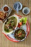 食物北泰国 库存图片