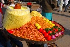 食物印地安人 免版税图库摄影