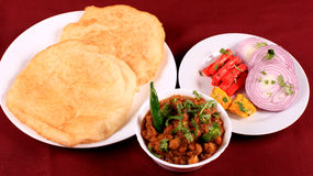 食物印地安人 库存照片