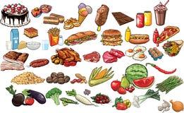 食物和饮料 免版税图库摄影