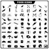 食物图标 图库摄影