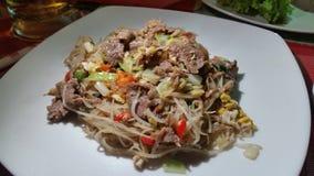 食物在柬埔寨 免版税库存图片