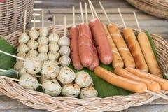 食物在泰国 免版税库存图片