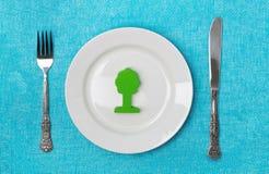 食物基因上修改了 免版税库存照片