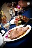 食物婚礼 库存图片