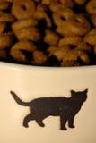 食物宠物 库存图片