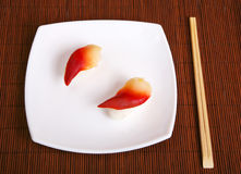食物寿司 库存照片