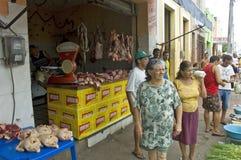 食物市场巴西 库存图片