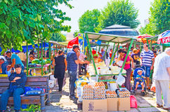 食物市场 图库摄影