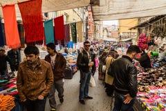 食物市场 库存图片