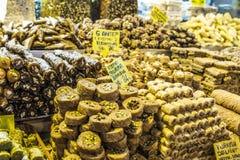 食物市场 免版税库存照片