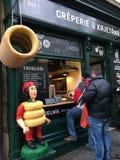 食物店在布拉格 免版税库存图片