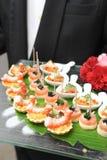 食物快餐和开胃菜 免版税库存照片