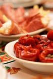 食物意大利人启动程序 免版税库存照片
