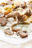 食物意大利人意大利式饺子 库存照片