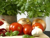 食物意大利语 免版税库存照片