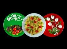 食物意大利语 免版税图库摄影