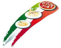 食物意大利语 免版税库存图片