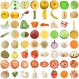 食物拼贴画 免版税库存图片
