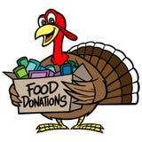 食物捐赠 免版税库存图片