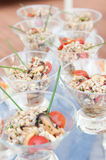 食物接收婚礼 免版税库存图片