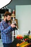食物摄影博克美发师摄影师 免版税库存照片