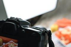 食物摄影生产 免版税库存照片