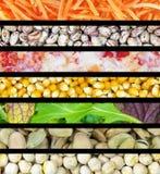 食物数据条 免版税库存照片