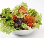 食物新鲜的健康沙拉蔬菜 免版税库存图片