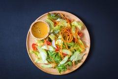 食物新鲜的日本沙拉蔬菜 免版税库存照片