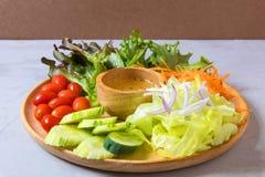 食物新鲜的日本沙拉蔬菜 库存照片