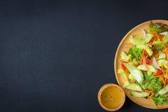 食物新鲜的日本沙拉蔬菜 免版税库存图片