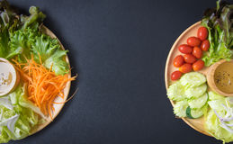 食物新鲜的日本沙拉蔬菜 图库摄影