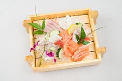 食物日本人寿司 免版税库存图片