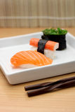 食物日本寿司 免版税库存图片