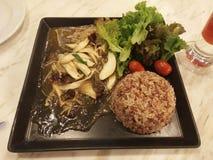 食物日本米有机干净可口 免版税库存图片