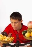 食物旧货诱惑 免版税库存照片