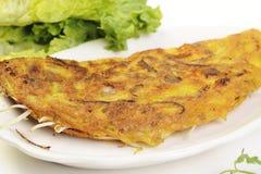 食物查出的越南白色 免版税图库摄影