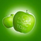 食物毒物 图库摄影
