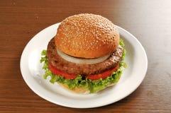 食物汉堡包 免版税库存照片