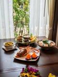 食物泰国传统 免版税库存图片