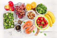 食物浓在抗氧剂上 免版税库存照片