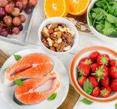 食物浓在抗氧剂上 库存照片